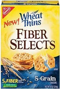 Amazon.com: Wheat Thins, Fiber Select, 5 Grain, 8-Ounce
