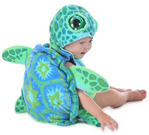 Princess Paradise Unisex Baby Sea Turtle, Green/Blue, 6/12 Months -