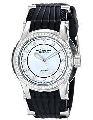 Stuhrling Original Women's 915.01 Vogue Illusion Analog Display Quartz Black Watch