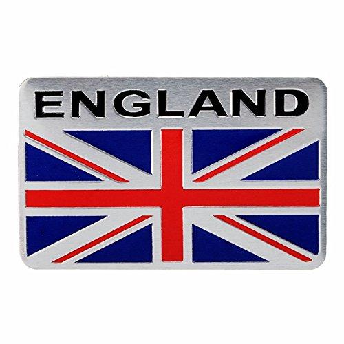Exterior Accessories - England Sticker Flag Stickers Britain Shield - Aluminum England Uk Flag Shield Emblem Badge Car Sticker Decal Universal For Truck Auto - England Flag Car Sticker - - Meaning Numbers Sunglasses