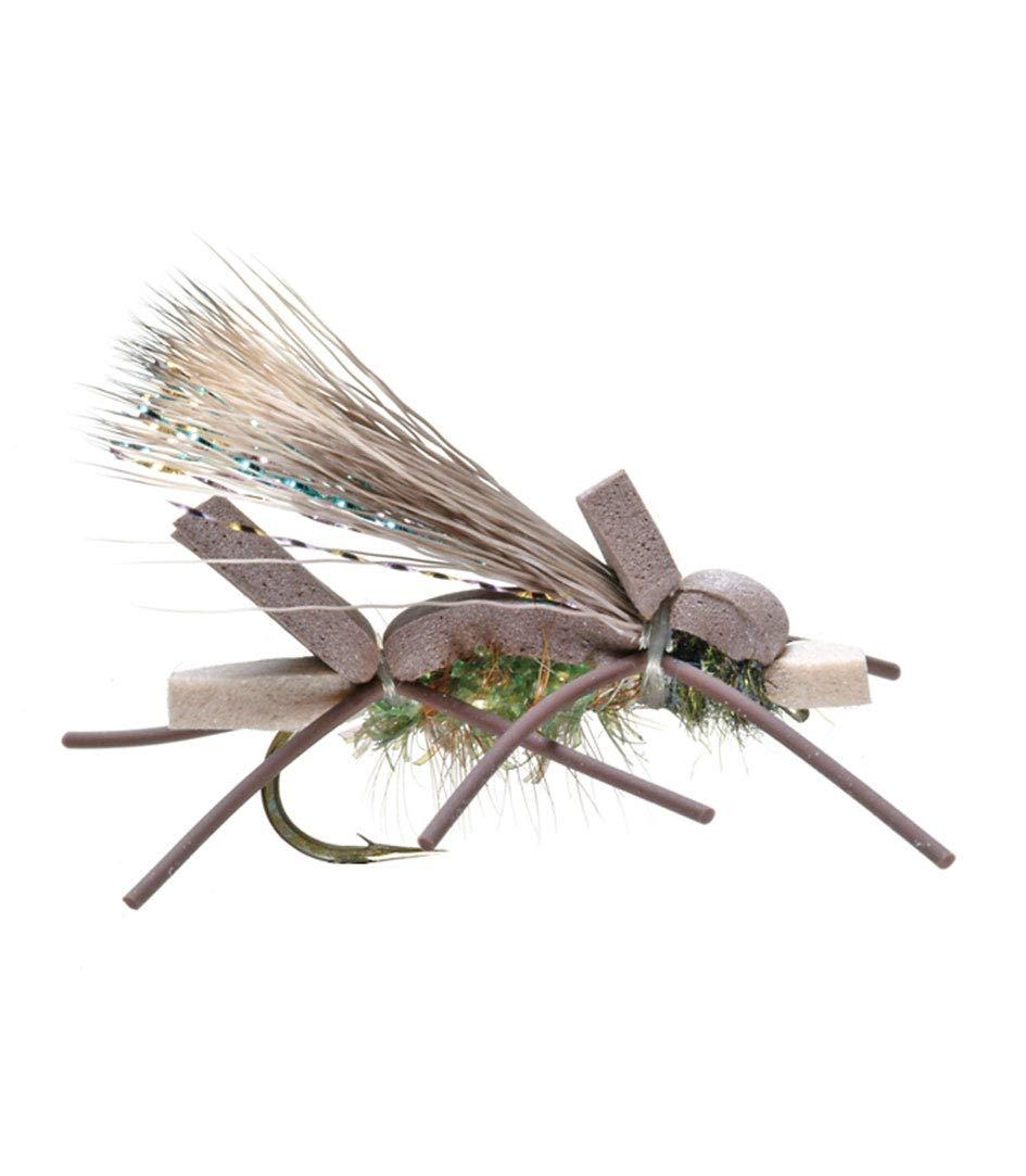 Umpqua Amy's Ant Olive Size 8 - 2 Pack