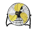 Master MAC-20F-DDF-B 20'' High Velocity Floor Fan