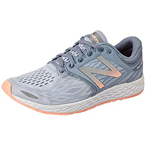 New Balance Women's ZANTEV3 Running Shoe, Reflection/Rose Gold, 9 B US