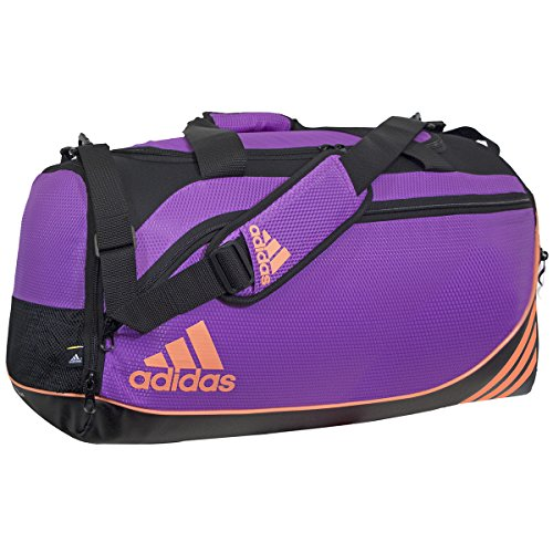 adidas Team Speed Small Duffel Bag , Flash Pink/Flash Orange