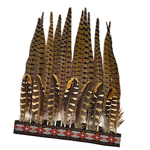 Baosity Adorno Ornamento de Estilo Indio Étnico para Pelo Cabello Cabeza