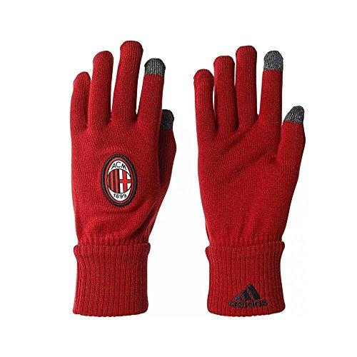 adidas Acm Guantes AC Milan, Hombre rojo (rojvic / brgros / negro)