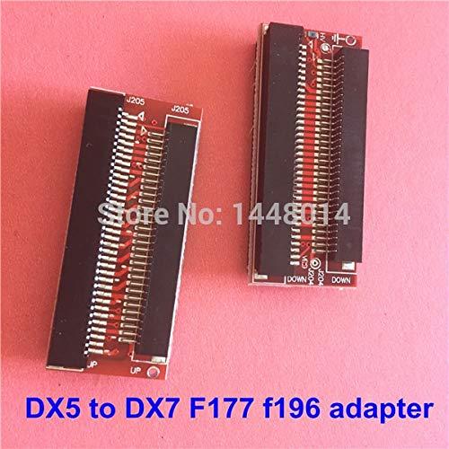 Printer Parts Chinese Printer Yoton Galaxy Allwin Human Yoton DX5 F186 to DX7 F196 F177 Change chip Adapter Card 1pc