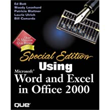Using microsoft excel 2002 by patrick blattner (2001, paperback.