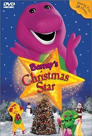 Barney A Very Merry Christmas The Movie Dvd.Amazon Com Barney S Christmas Star Barney Movies Tv