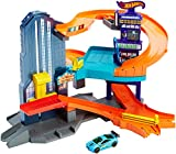 (US) Hot Wheels Workshop Track Builder Speedtropolis Track Set