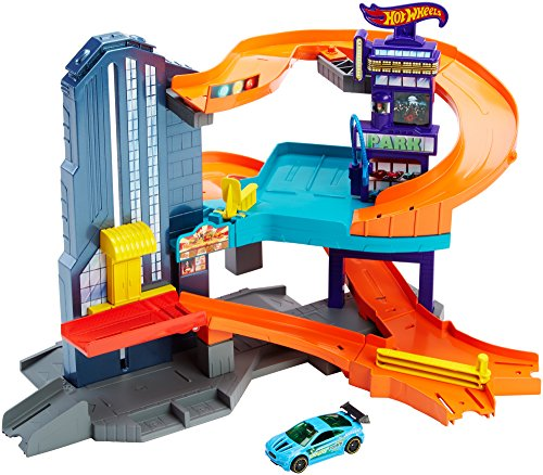 Hot Wheels Workshop Track Builder Speedtropolis Track Set from Hot Wheels