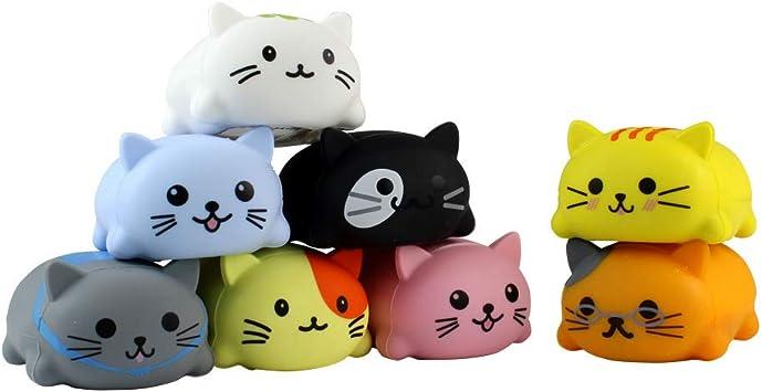 ALOOVOO Gato luz Reproductor de música, Juguetes para niños música Juguete Escala Escala eléctrica Cat Light Reproductor de música para niños,3589: Amazon.es: Hogar