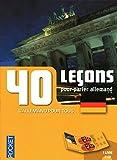 Coffret 40 leçons pour parler allemand (livre + 2CD)