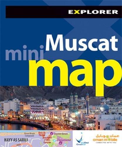 Muscat Mini Map, 2nd (Explorer - Mini Maps)