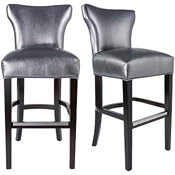 Amazon Com Tov Furniture Philip Croc Counter Stool