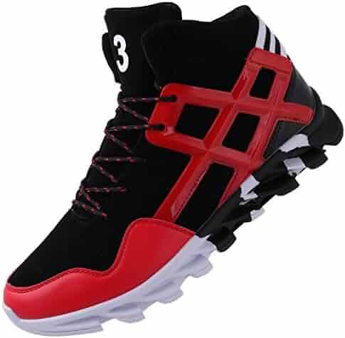 5199c6492 JOOMRA Men s High Top Designer Sneaker Athletic-Inspired Shoes
