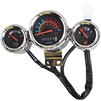 Amazon com: Night Light Speedometer Gauge Cluster for