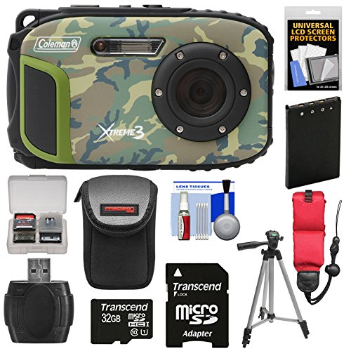 Coleman Xtreme3 C9WP Shock & Waterproof 1080p HD Digital Cam