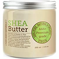 BEST Shea Butter - Premium Quality - Grade AAA+ Unrefined Organic Shea Butter (1 Pack)