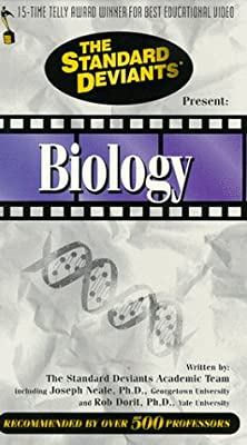 The Standard Deviants: Biology [VHS] by Cerebellum Corp