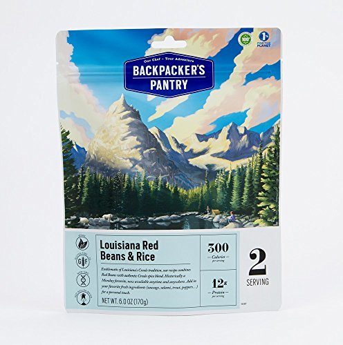 Backpacker's Pantry Louisiana Red Beans Rice, (Packaging May Vary)​ (Pantry Backpackers)