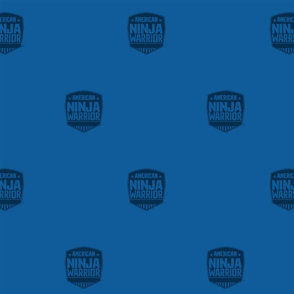 """Official American Ninja Warrior Table Cover - Perfect for Kids Parties - 42.5"""" x 70.8"""" - Blue - Ninja Warrior Party Supplies"""