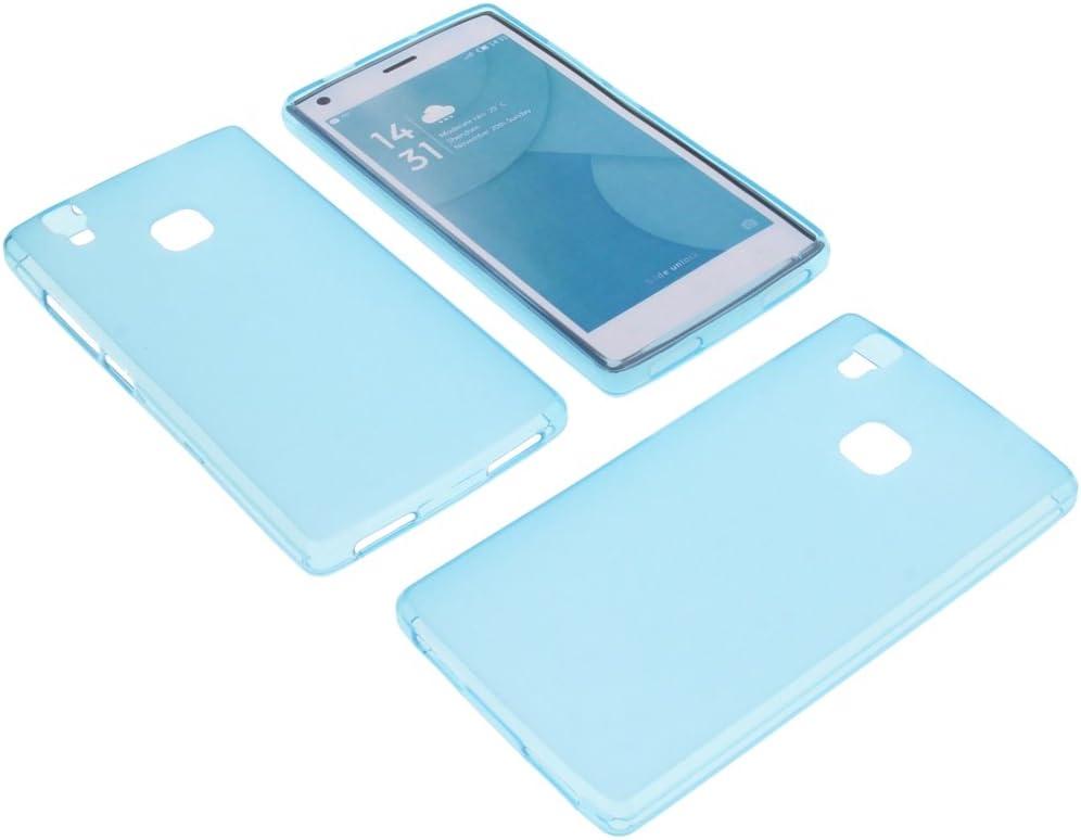 foto-kontor Funda para Doogee X5 MAX X5 MAX Pro Funda Protectora de Goma TPU para móvil Azul: Amazon.es: Electrónica