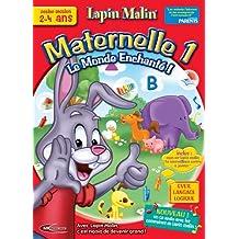 Lapin Malin maternelle 1 + mon premier lapin malin 2-4 ans - le monde enchanté