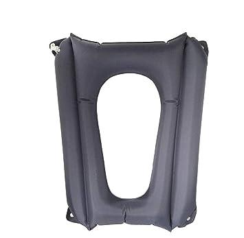 Cojín de aire para silla de baño Cojín inflable Asiento ...