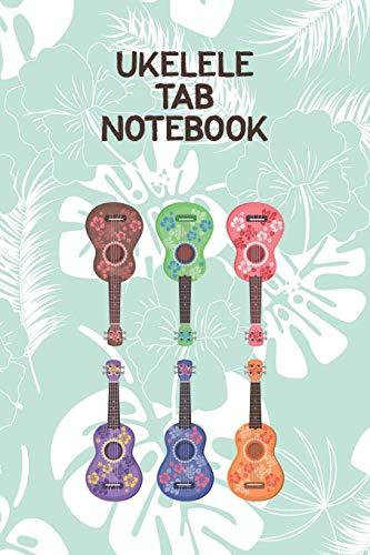 Ukelele Tab Notebook: Designed For Composition,Songwriting and Performance of Uke Players por Edward J. Espuma