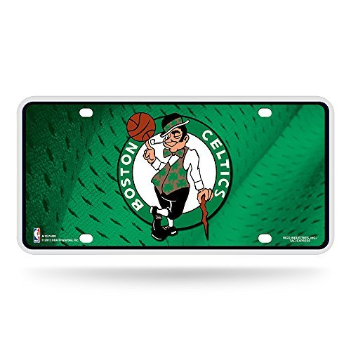 (NBA Boston Celtics Metal License Plate Tag )