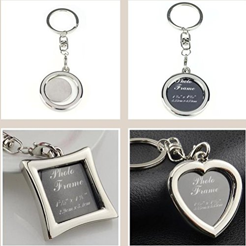 Creative Buckle Picture Keyring Keychain