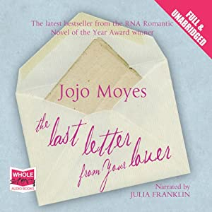 Last Letter from Your Lover | Livre audio