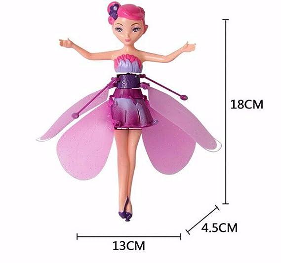 YOUSI Hada de inducción Magical Princess Dolls Suspensión de luz ...