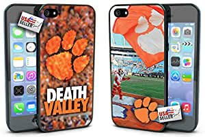 OneDreamCases - Clemson Tigers Death Valley Hard Case TWO PACK for iPhone 4/4s