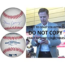 James Comey Autographed Baseball - FBI Director COA exact proof Rare - Autographed Baseballs