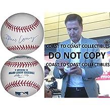 James Comey Autographed Baseball - FBI Director COA exact proof Rare - Autographed Baseballs