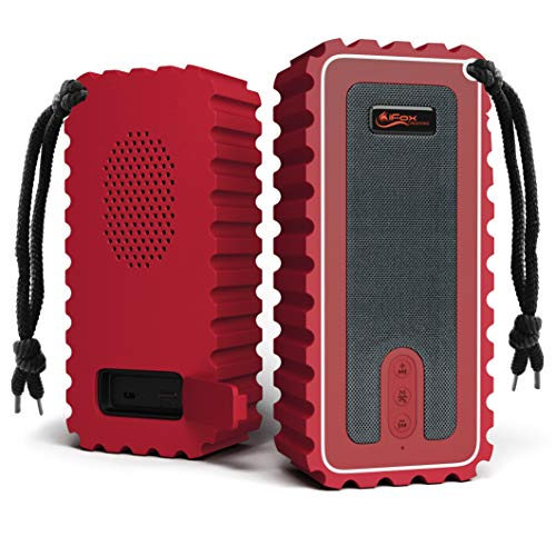 Waterproof Bluetooth Speaker with FM Radio– IP67 Rated Fully Submersible – Dust