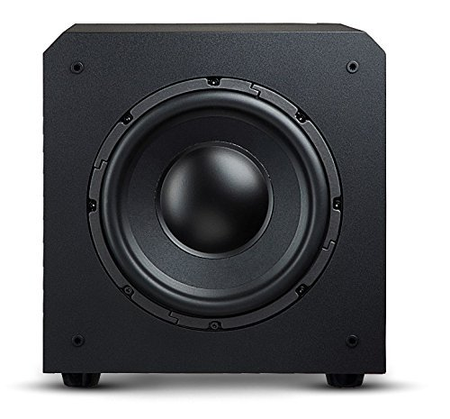 OSD Audio PS12 High Powered 12-Inch 175W Powered Premium Home Theatre Subwoofer Black Matte Finish [並行輸入品] B078G9Q1DY