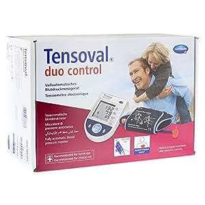 Hartmann Tensoval Duo Control II - Tensiómetro automático para medición en el brazo (22-32cm, tamaño normal)