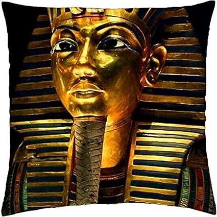 """Máscara de Tutankamón – Funda de almohada manta (18 """" ..."""