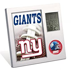 NFL New York Giants Desk Clock by Wincraft