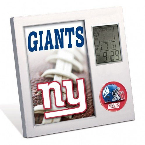 Giants Wall Calendar (NFL New York Giants Desk Clock by Wincraft)