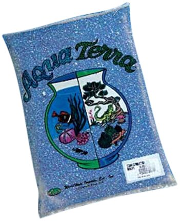 Worldwide Imports AWW80015 Aqua Terra Sand, 5-Pound, Dark Blue, Pack Of 6