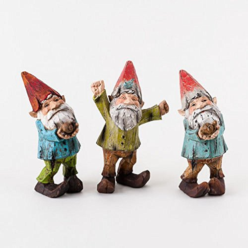 Adorable Resin Garden Gnomes 8