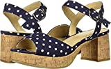CL by Chinese Laundry Women's Kensie Heeled Sandal, Navy Denim, 8.5 M US