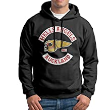 SARAH Men's Hells Angels Motorcycle Club Hoodie