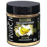 Fruiron All Natural Freeze Dried Banana Powder, 65g (2.29oz) | Use to Flavor Smoothies and Milkshakes, Bubble Tea, Baking Goods, Porridge, Yogurt and More