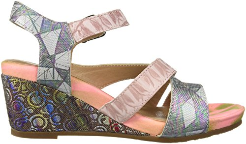 Step Spring Women's by L'Artiste Sandals Leanna Multi Pink FPApqpxw
