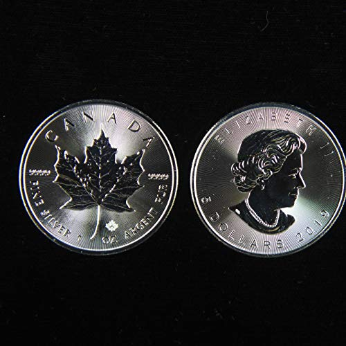 2019 CA Canadian Silver Maple Leaf 1oz Silver $5 Uncirculated